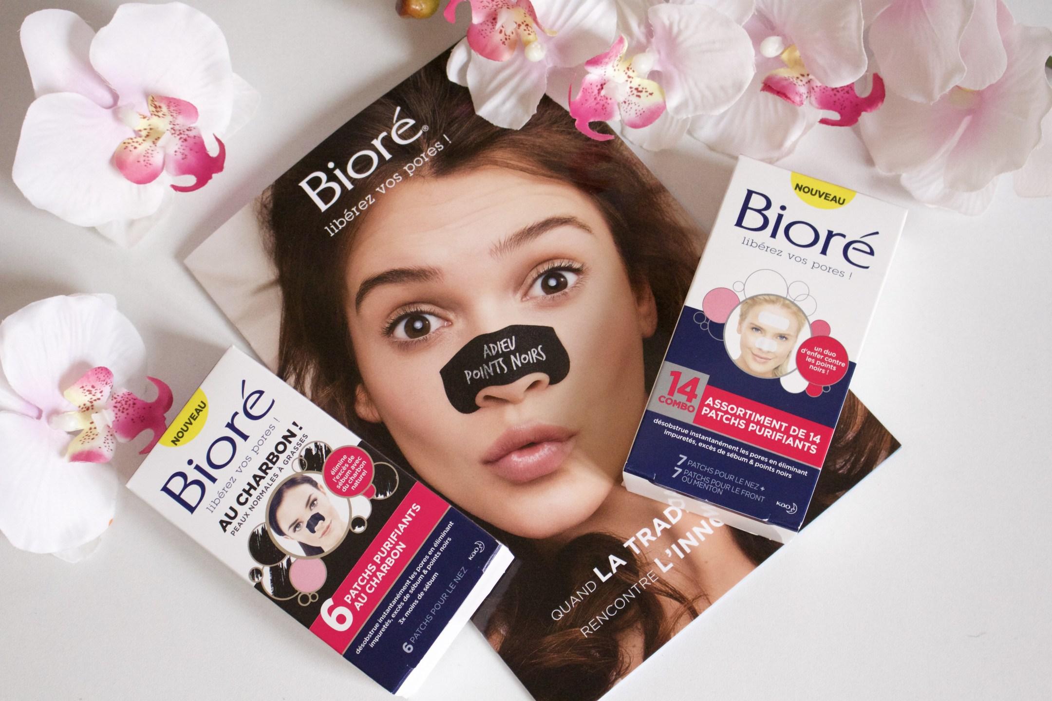 Libérez vos pores avec les patchs BIORE #concours - Lady heavenly